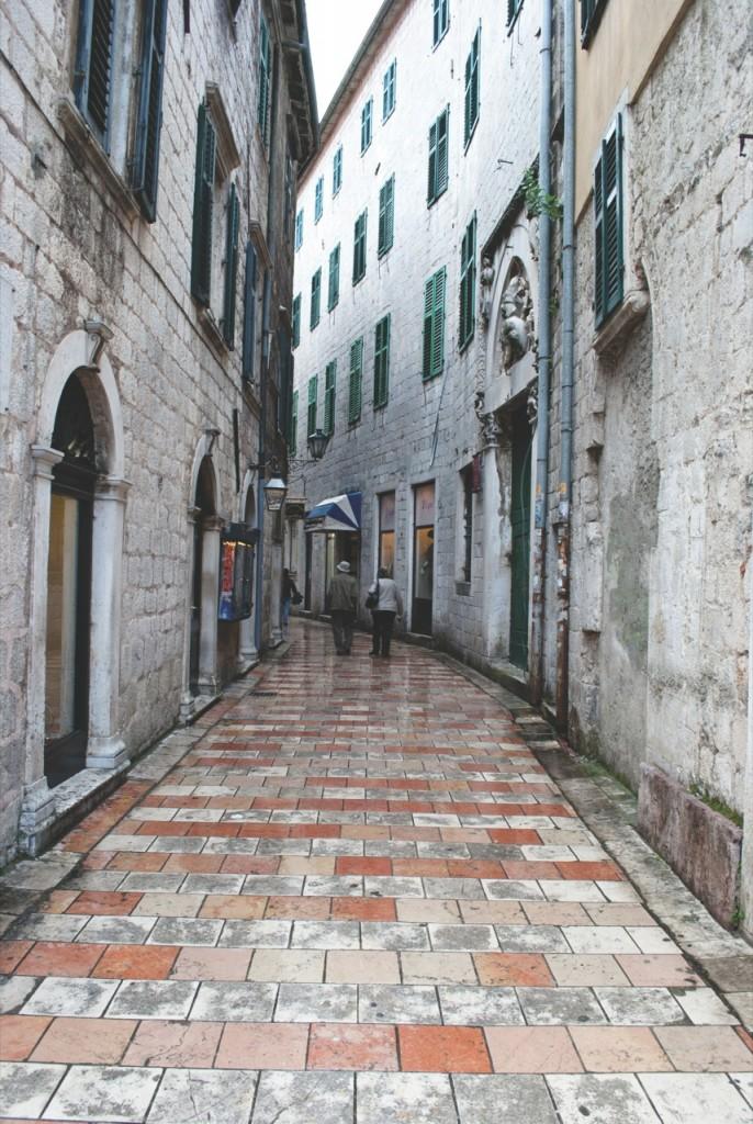 Kotor –urokliwe miasteczko wysoko wgórach.
