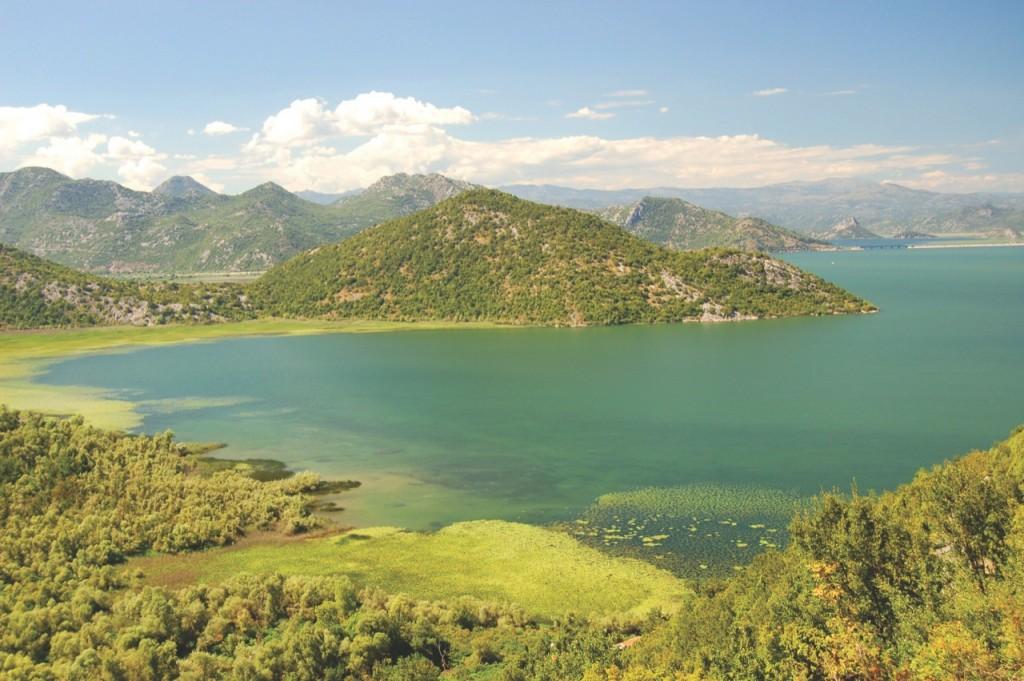 Jezioro Szkoderskie –największe naPółwyspie Bałkańskim.