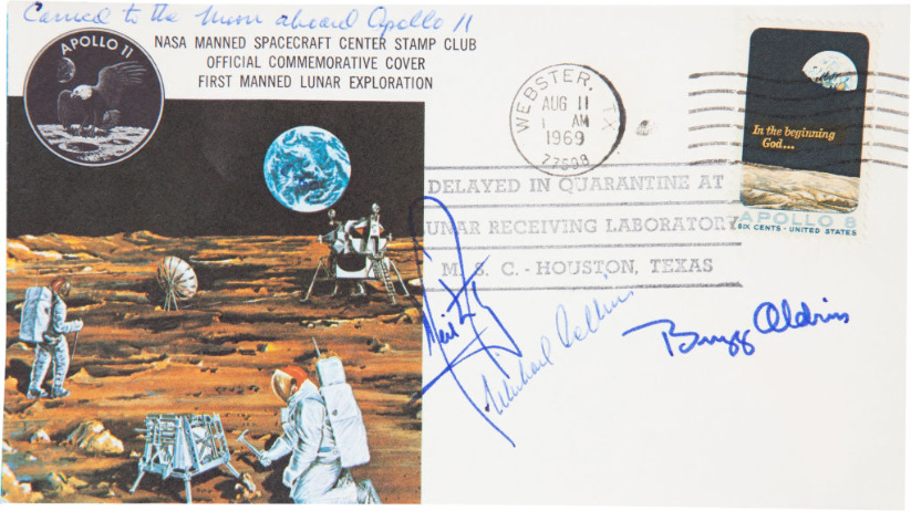 Apollo-11-space-flown-cover-signed