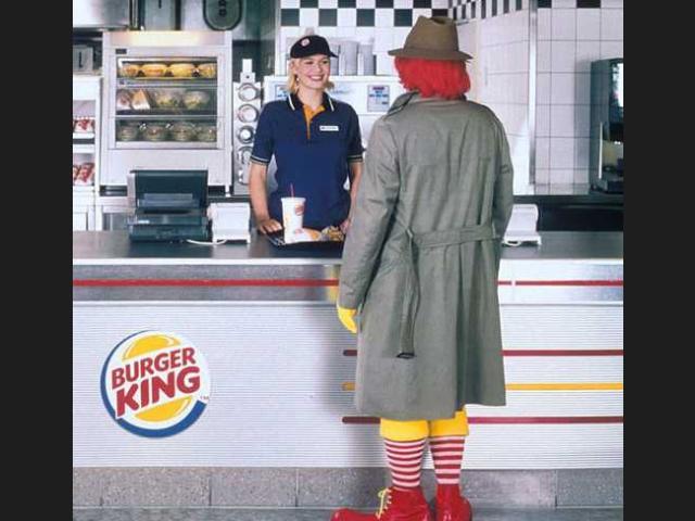 Może McDonald's ma mniejsze kanapki, alezatodoskonałe frytki...