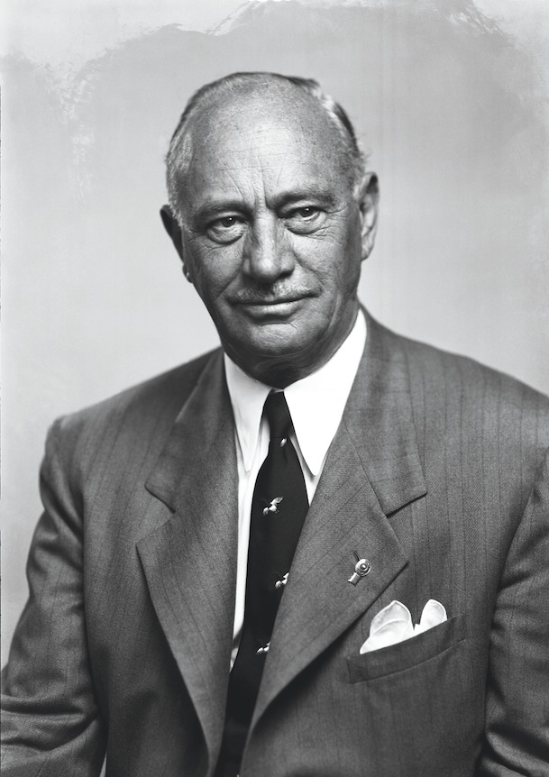 Portrait of Conrad Hilton