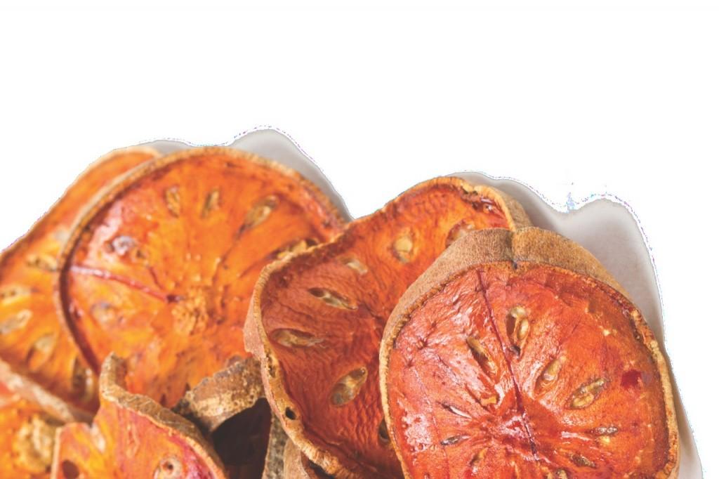 Bael fruit brzmi lepiej niż polskie kleiszcze smakowite.