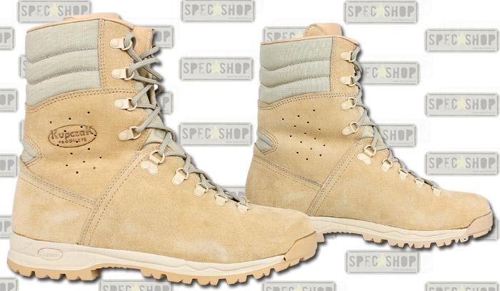Pustynne buty wojskowe zzakładu Kupczak Products są niezbędnikiem wwielu armiach świata / zdjęcie: specshop.pl.