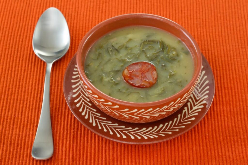 Caldo verde –zielona zupa.