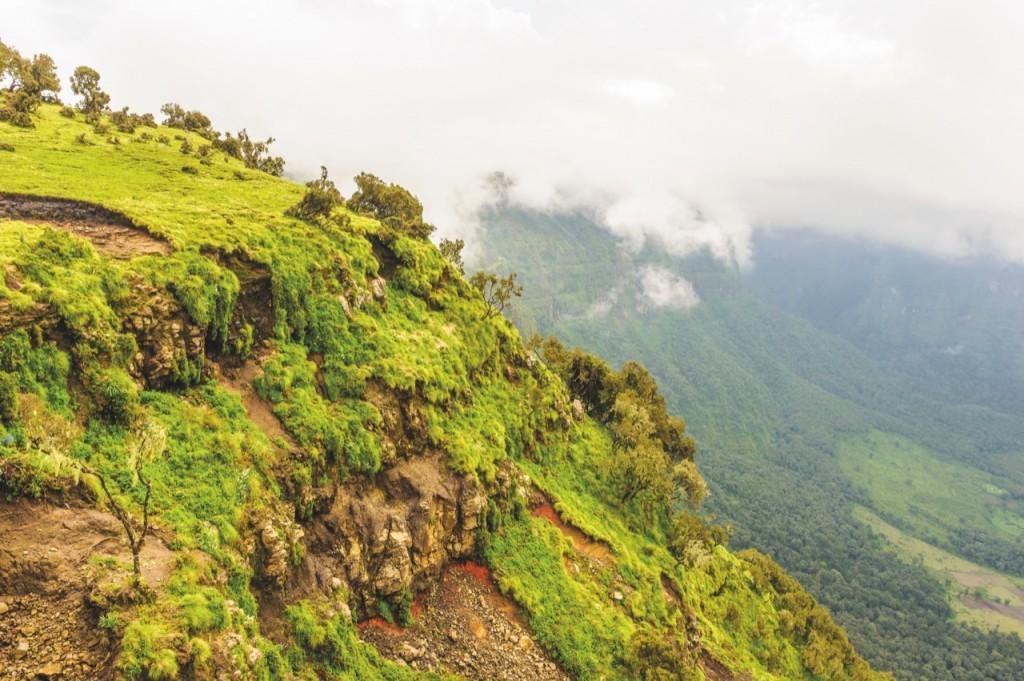 Góry Semien są cudem natury. Park Narodowy Semien, którysię znajduje naterenie tego pasma, jest wpisany nalistę światowego dziedzictwa UNESCO.