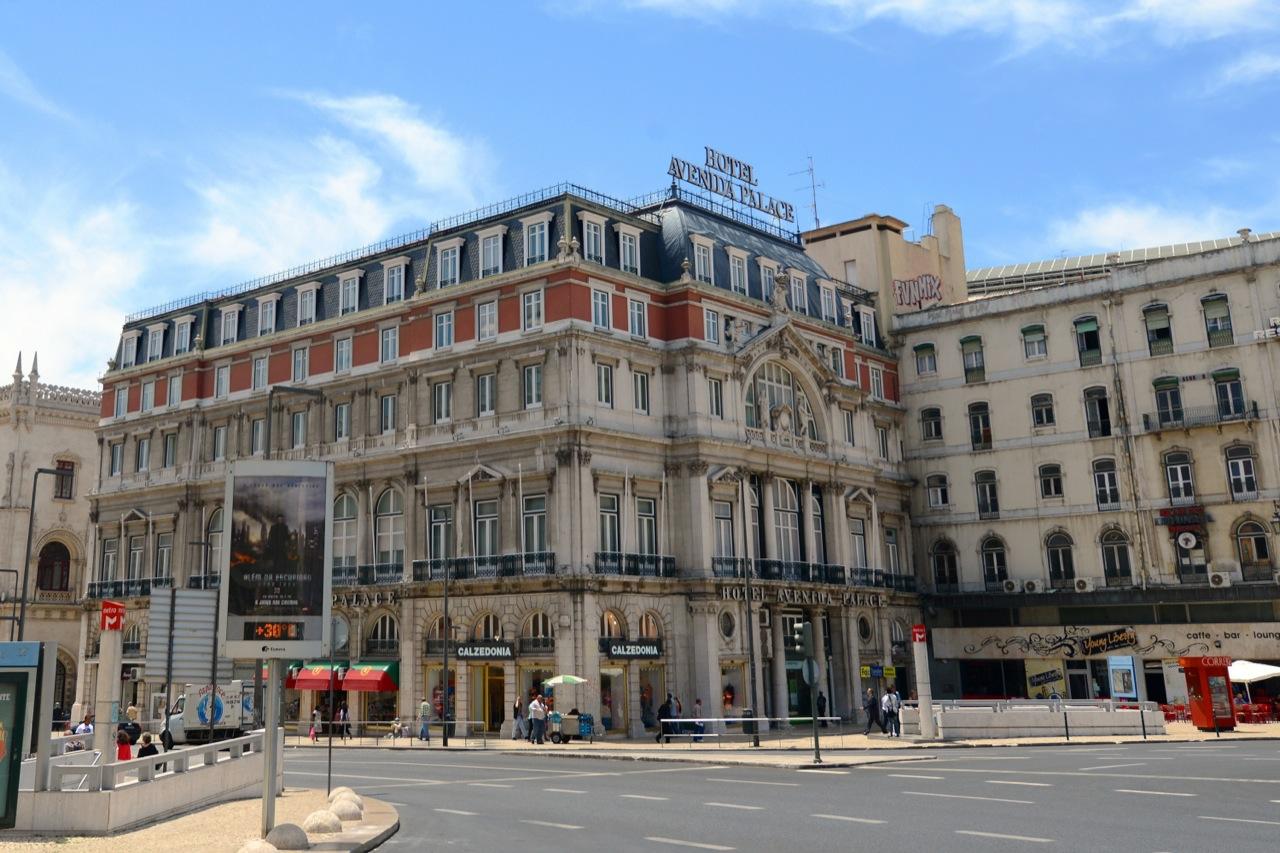Avenida Palace – luksus wcentrum Lizbony.