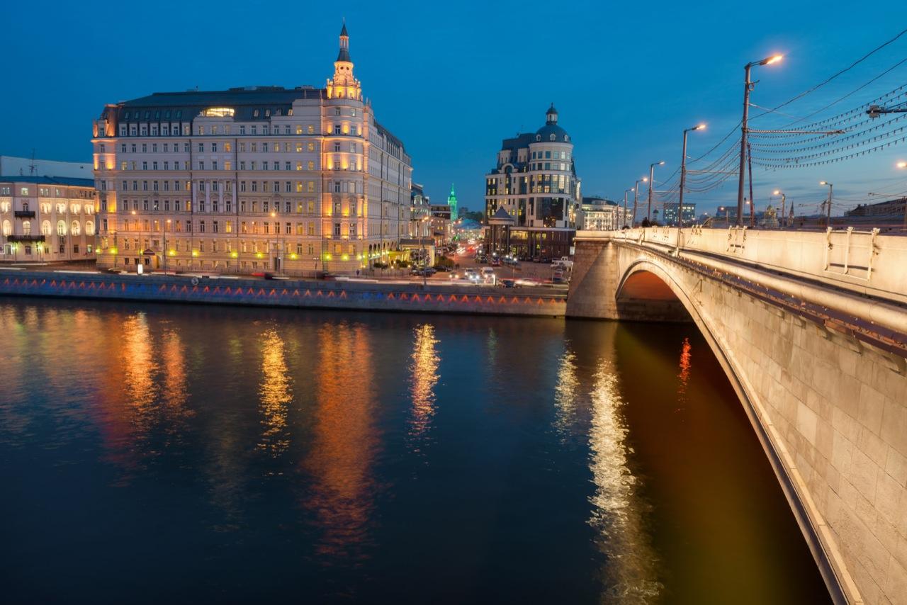 Hotel Kempinski zwidokiem narzekę Moskwę iKreml wpełni zasługuje napięć gwiazdek.