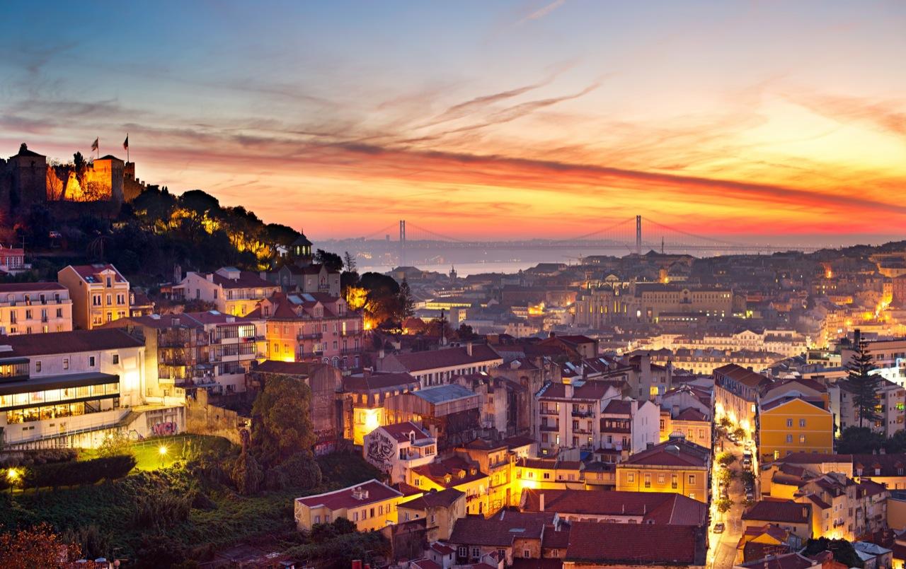 Dla takich widoków trzeba Lizbonę zobaczyć.