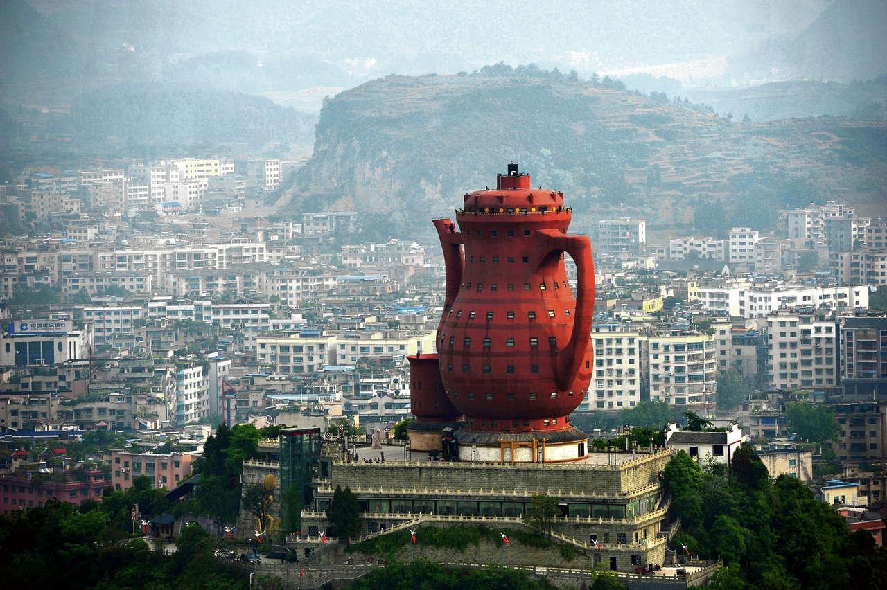 Nie ma wątpliwości, czym zafascynowany był architekt...