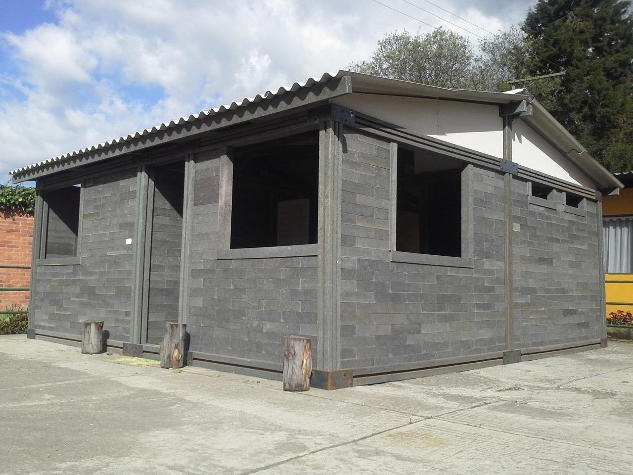 Takie niedrogie, ekologiczne iwytrzymałe domy mogą stanąć już niedługo wwielu zakątkach świata. / Foto: archdaily.mx