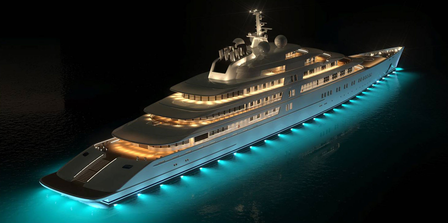Na taki jacht jak Eclipse warto wydać miliard dolarów.