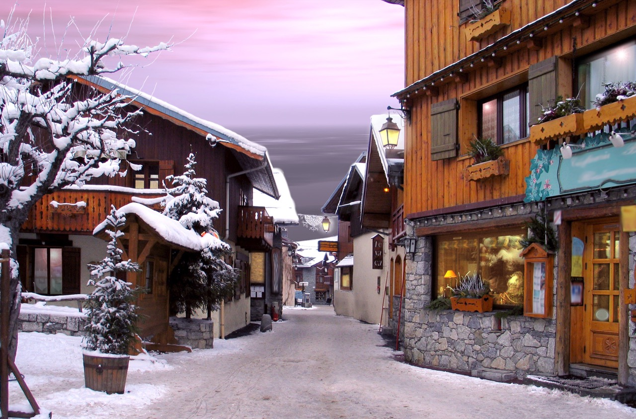 La Praz – francuski szczyt narciarskiego prestiżu.