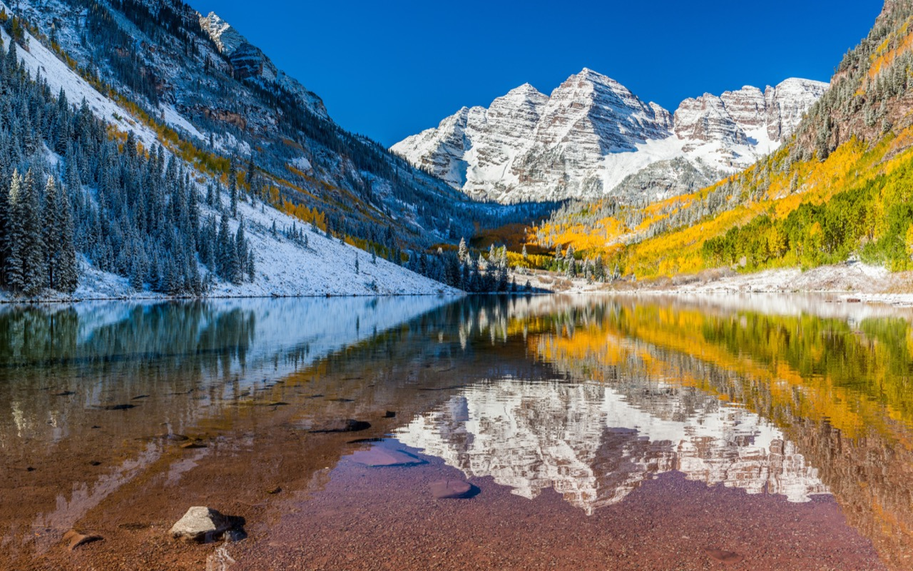 Dla tych widoków warto odwiedzić Kolorado.