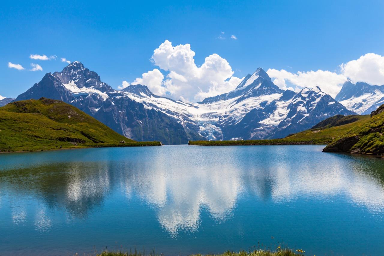 Alpejskie szlaki są piękne, choć nieraz wymagające.